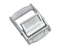 25mm 250kg white zinc plated cam buckle