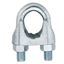 Galvanized Malleable Wire Rope Clip Type B