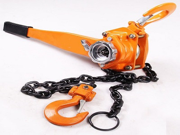 Instructions for the safe use of the Hand Operated Chain Lever Hoist